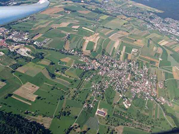 Fotos aus der Luft von Wahlen