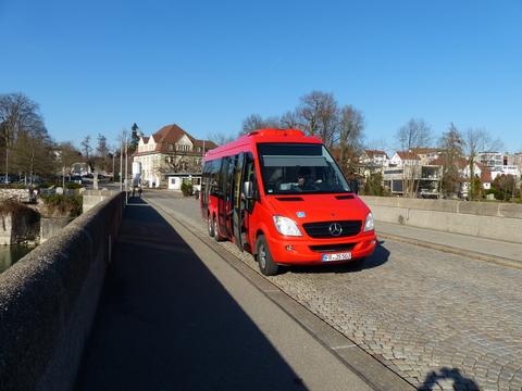 Grenzüberschreitender Bus