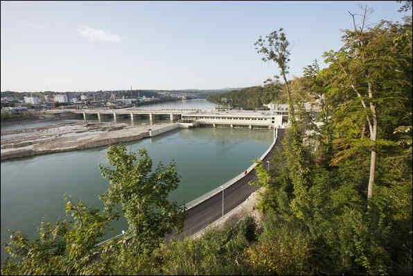 Bild Wasserkraftwerk Rheinfelden