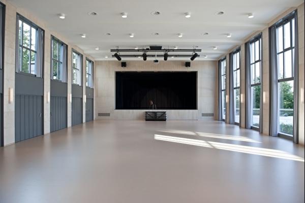 Musiksaal Kurbrunnen Innenansicht