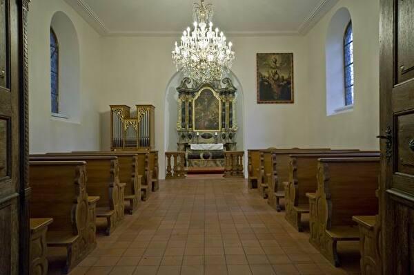 Innenansicht Stadtparkkapelle