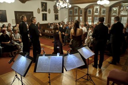 Capriccio Barockorchester im Rathaussaal