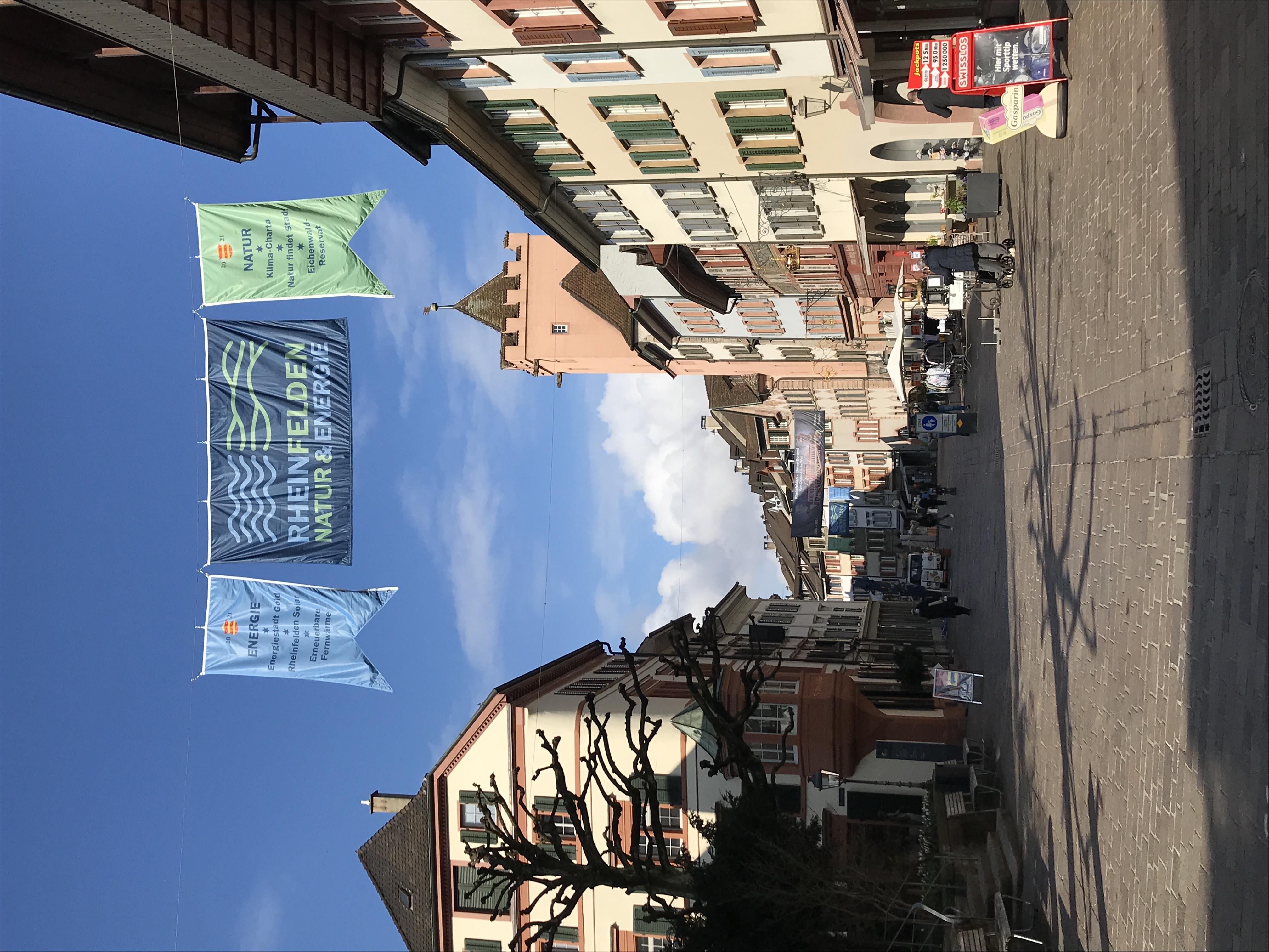 Flaggen Marktgasse