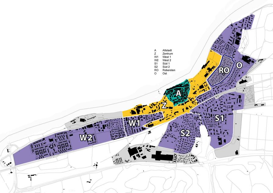 Übersichtsplan Parkzonen