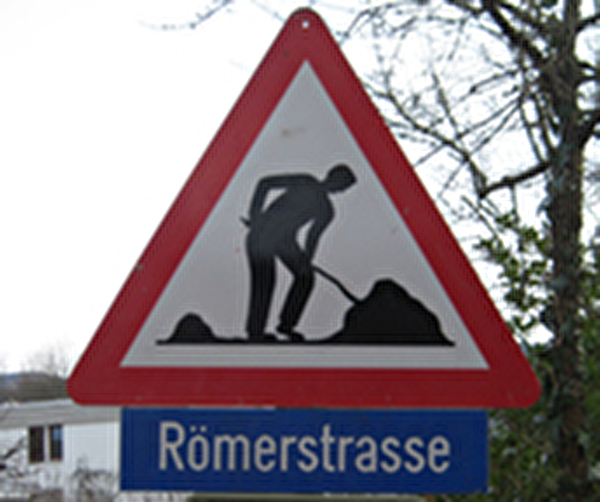 Themenbild Baustelle Römerstrasse