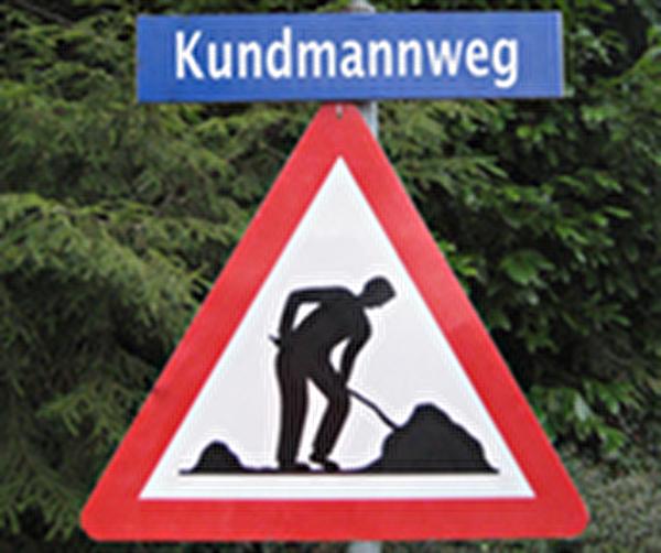Themenbild Baustelle Kundmannweg