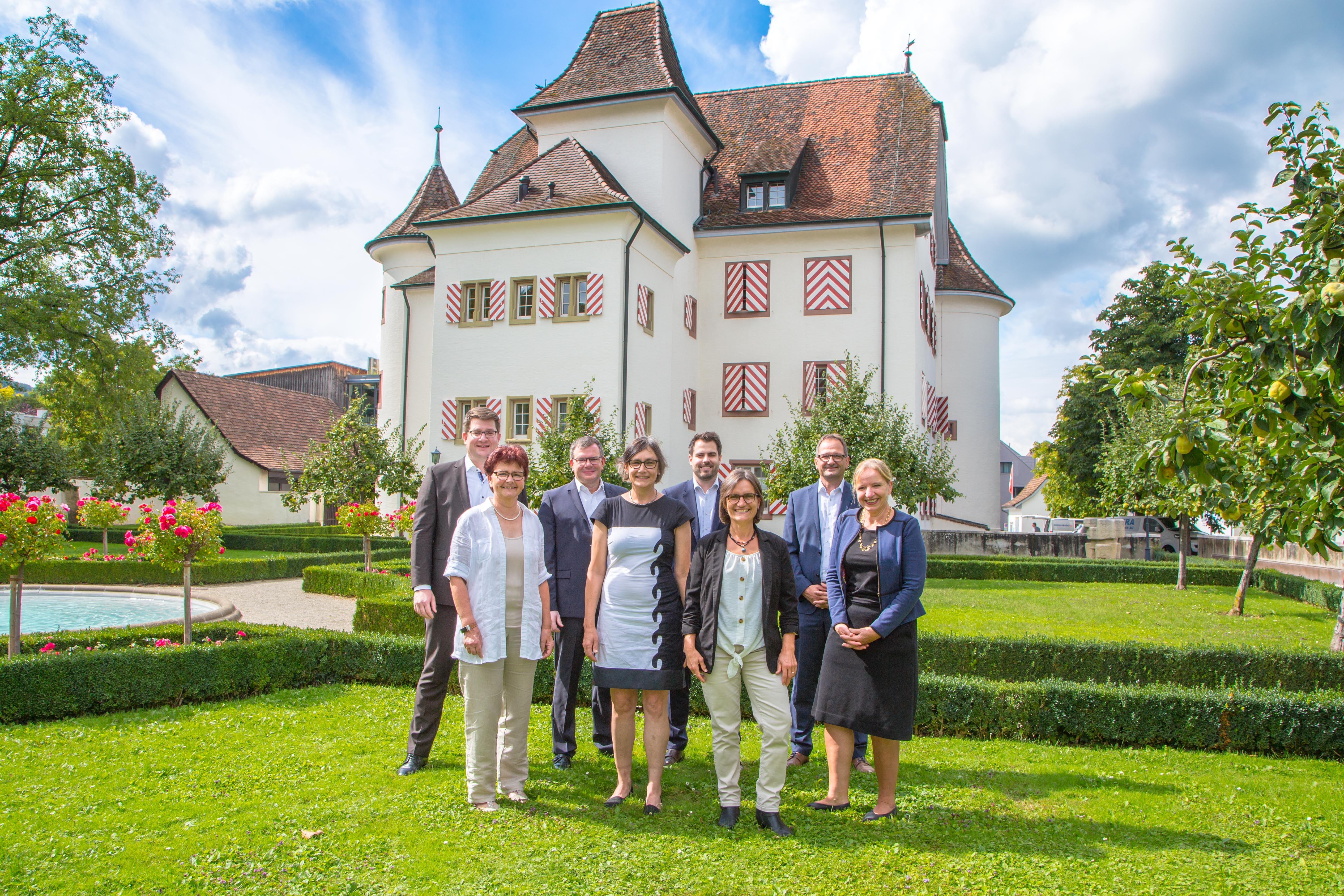 Gruppenfoto Gemeinderat Aesch