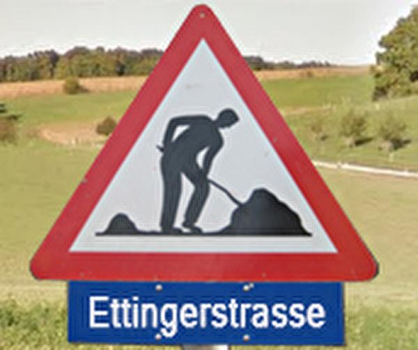Themenbild Baustelle Ettingerstrasse