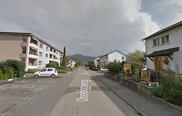 Der Obereggweg (Screenshot Google)