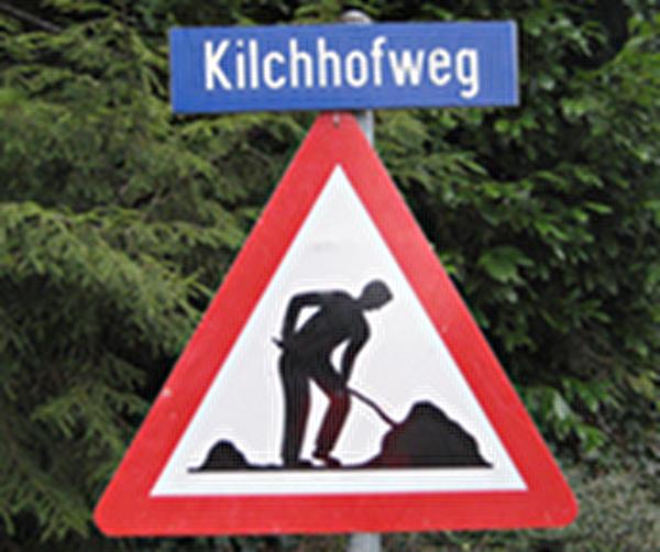 Themenbild Baustelle Kilchhofweg