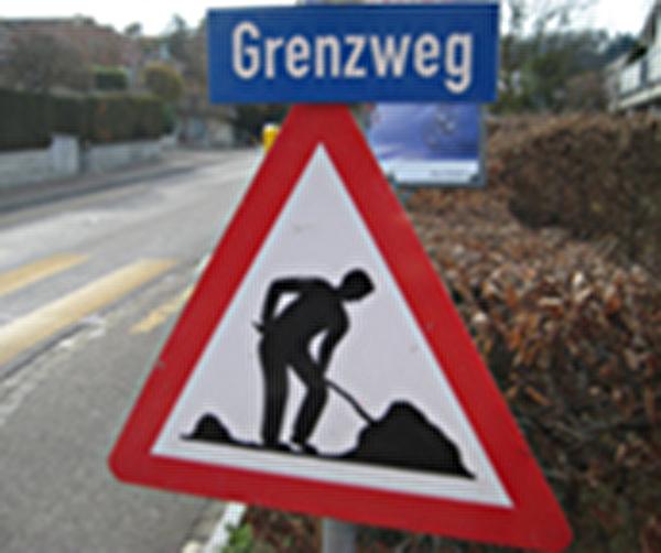 Themenbild Baustelle Grenzweg