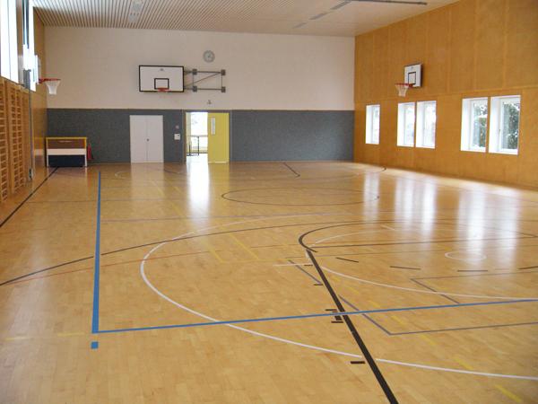 Bild Sporthalle Ebnet 1