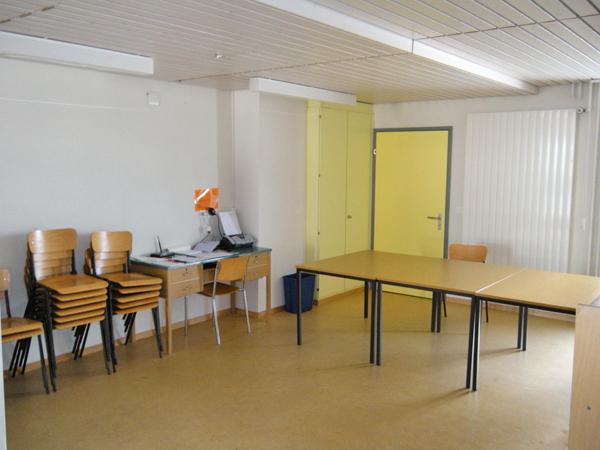 Bild Seminarraum/Sanitätszimmer