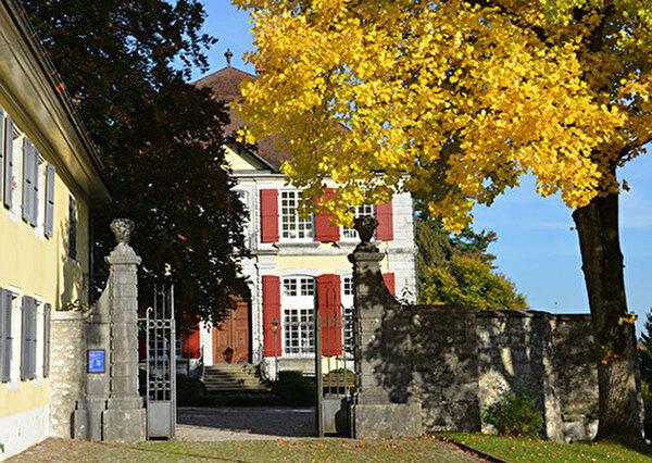 Eingang zum Museum Blumenstein