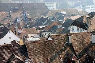 Dachlandschaft von Solothurn