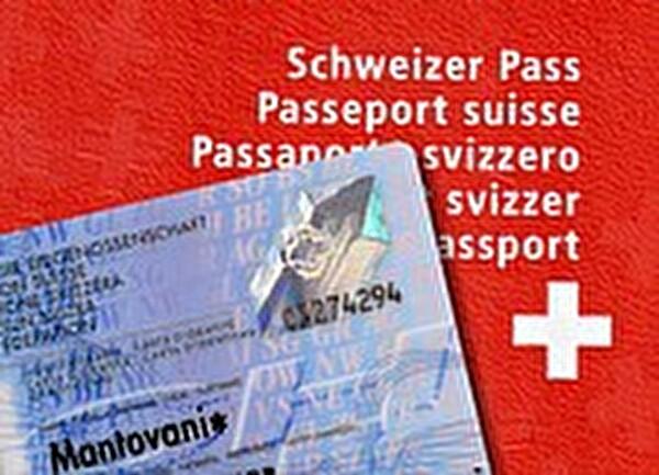 Biometrischer Pass und Identiätskarte