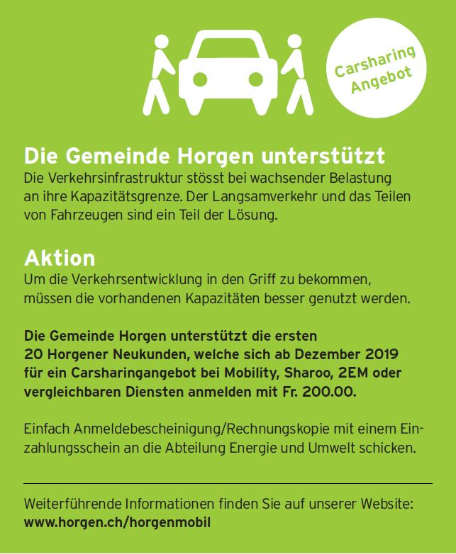 Carsharing-Angebot