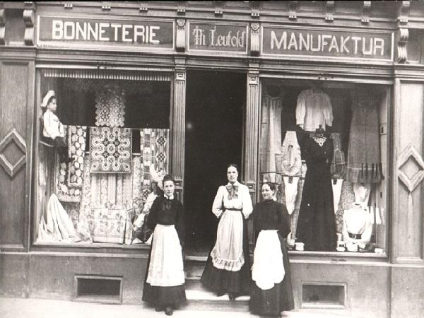 Bild eines historischen Ladens