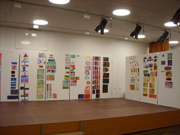 Bild der Ausstellung Kunst macht kreativ
