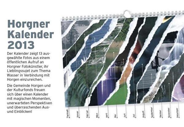 Plakat Kunstkalender 2013