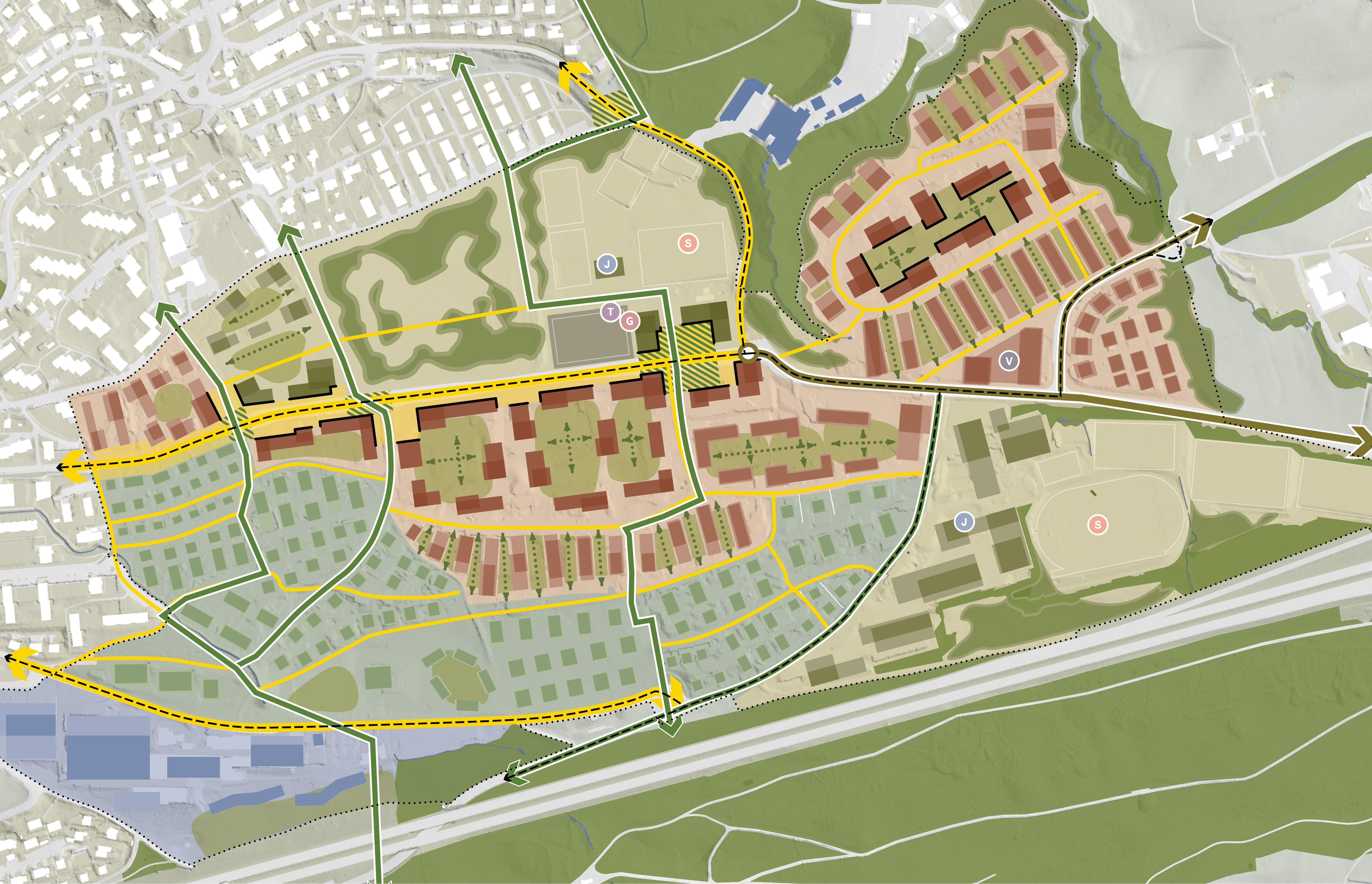 Strukturbild Kalkofen Waldegg Allmend