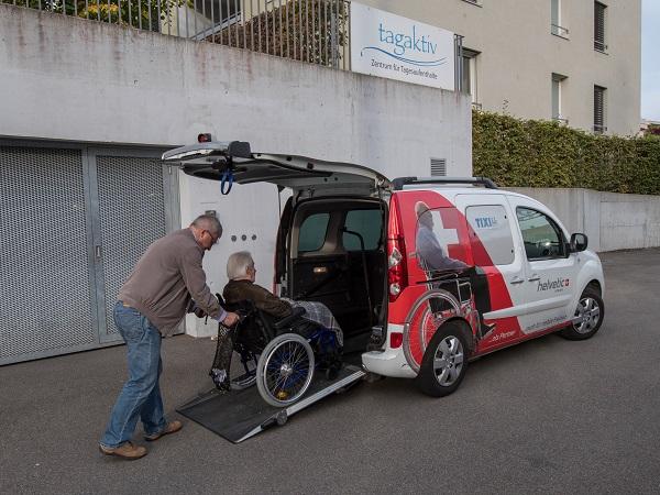 Mobil mit einer Behinderung