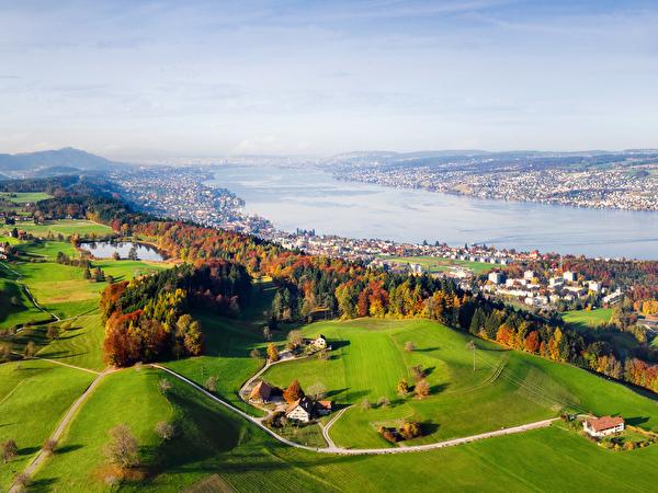Horgenberg mit Sicht auf Horgen Dorf