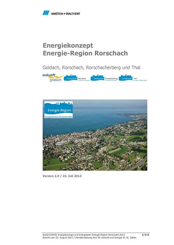 Titelbild Energiekonzept
