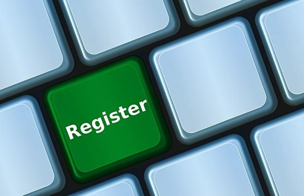 Symbolbild Register