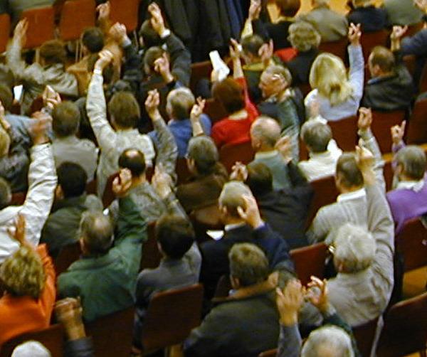 Symbolbild Bürgerversammlung