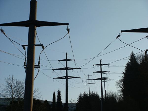 Bild Stromleitungen