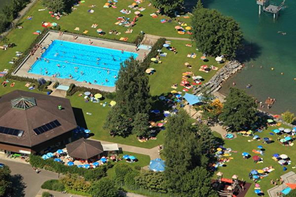 Luftaufnahme Badi