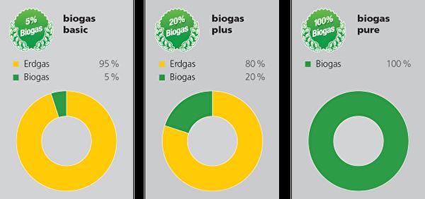 Biogasprodukte