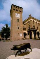 Dorfplatz Castelnuovo Rangone