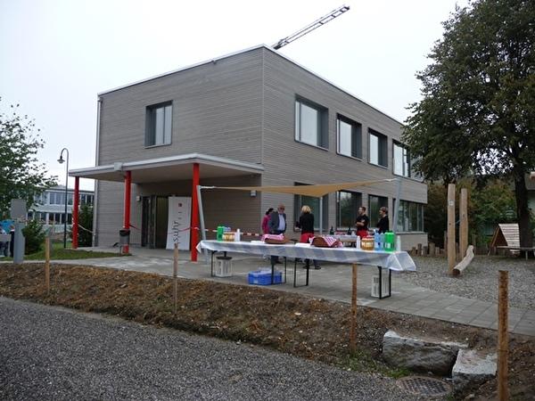 Der neue Kindergarten im Feld