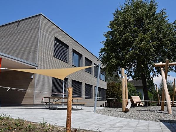 Der neue Kindergarten an der Bachstrasse