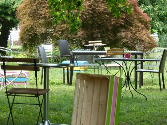 Garten im Nachbarschaftshaus am Sonnmattweg 4