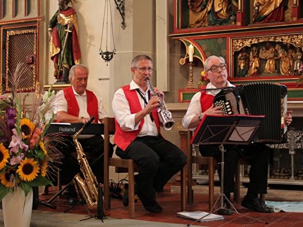 Kapelle Jost Ribary, René Wicky, Walter Aregger