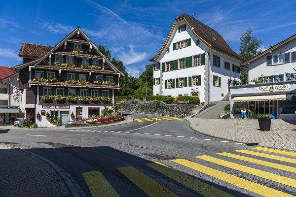 Dorfzentrum von Oberägeri