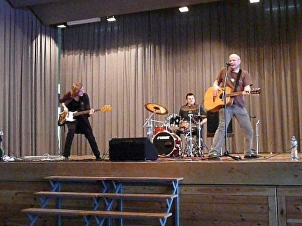 Bruno Hächler und Band