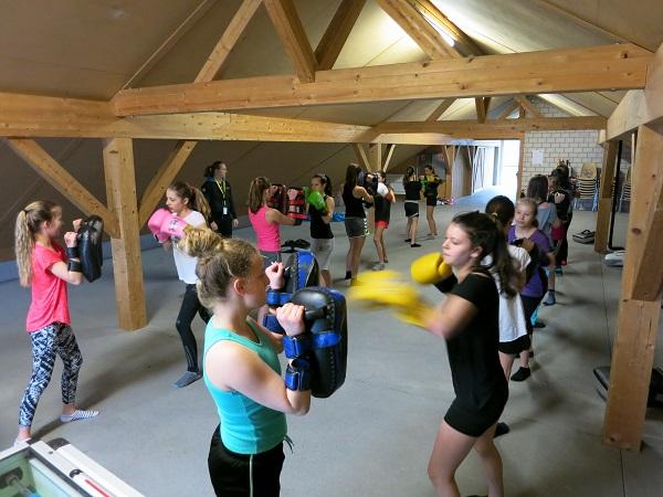 Kickbox-Workshop für Jugendliche
