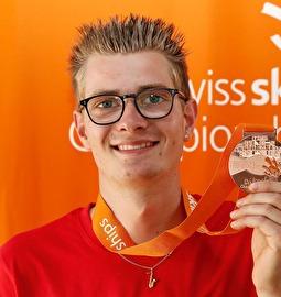 Yannick Henggeler holt sich Bronzemedaille