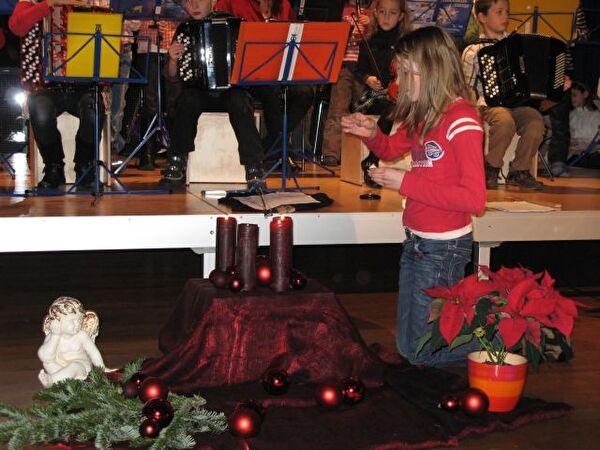 Weihnachtskonzert der Musikschule