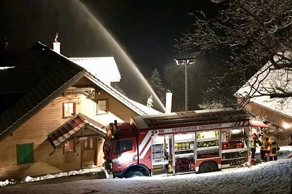 Nachteinsatz Feuerwehr