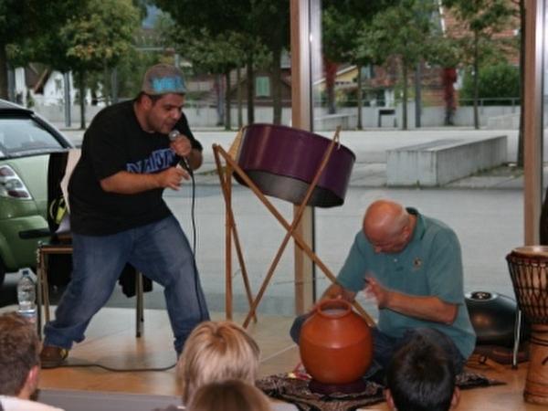 The Human Beatbox NINO.G und Reto Weber