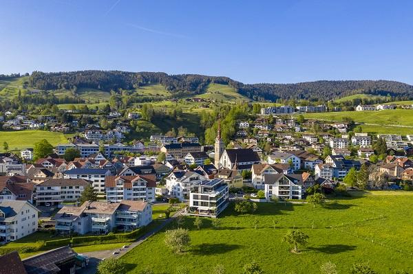 Dorfbild Oberägeri