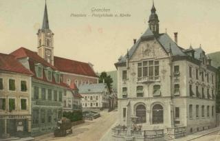 Ansicht auf den alten Postplatz