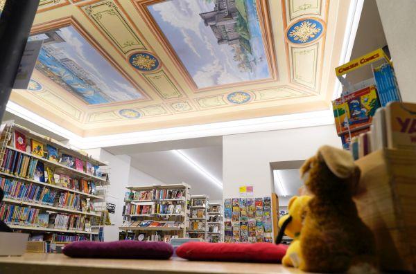 Bibliothek Ägerital