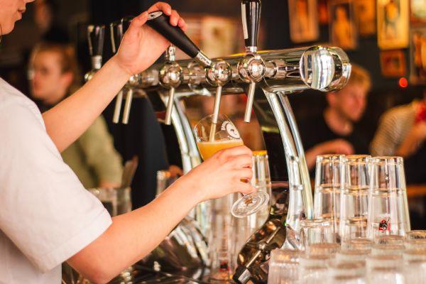 Bewilligung für Alkoholabgabe