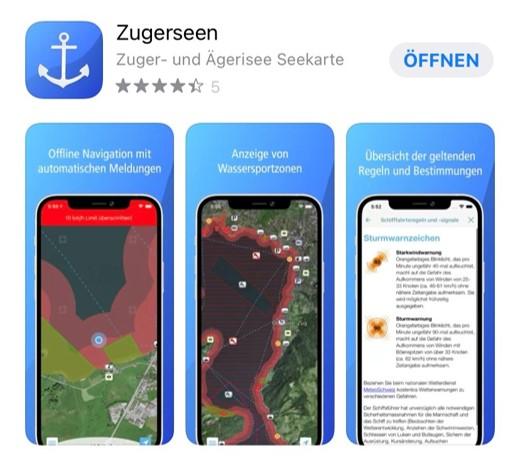 Zuger Seen App